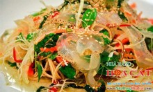 Gỏi sứa hoa chuối