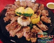 Bò Nhật nướng chảo đá